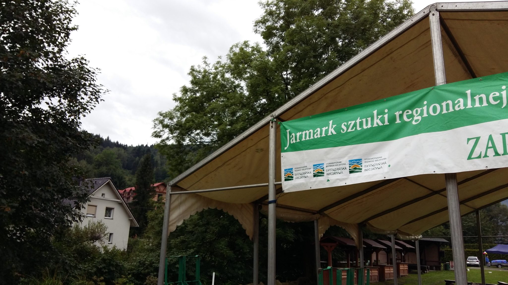 Relacja z Jarmarku Sztuki Regionalnej w Bystrej 20.08.2017
